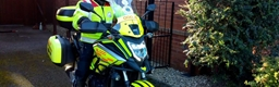 Blood Bikes support for Wirral University Teaching Hospital