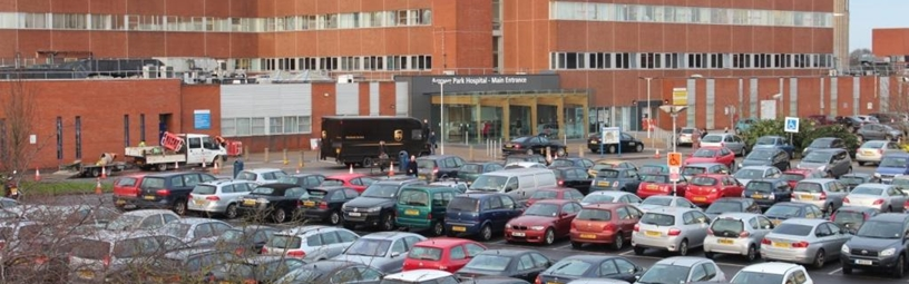 Parking at Arrowe Park Hospital